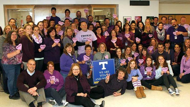 Staff of Webster Thomas High School.