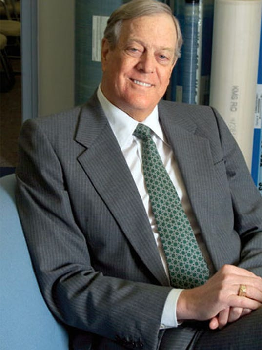Koch brothers group works to stop nashville amp for David koch usa