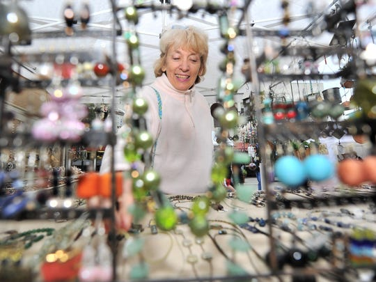 The Jensen Beach Fine Art & Craft Show runs from 10 a.m. - 5 p.m. Jan. 10-11 in downtown Jensen Beach.  