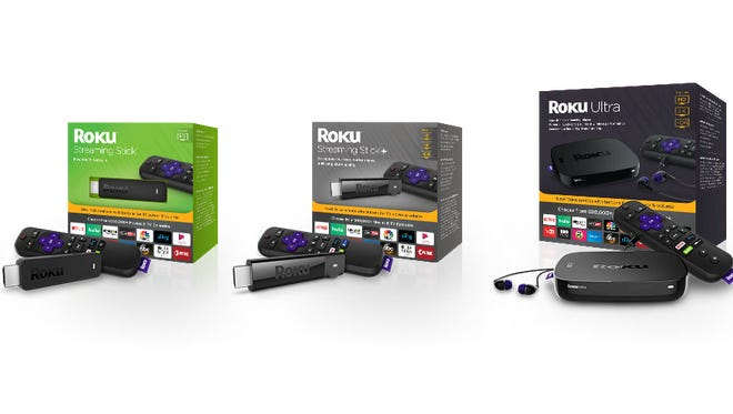 The latest Roku streaming video players, range from $29.99 to $99.99, are available Oct. 8.