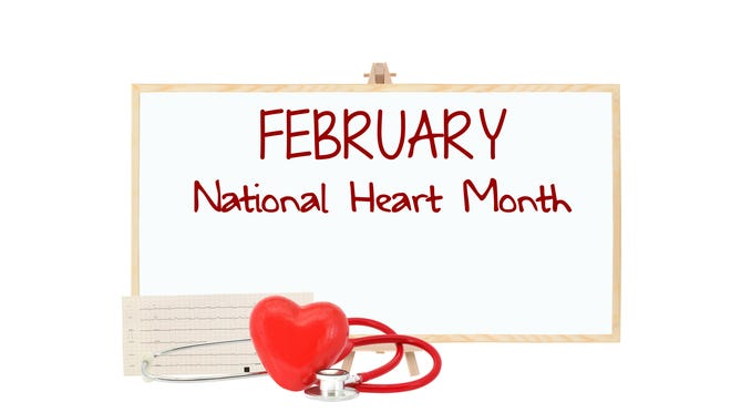 February is National Heart Month.