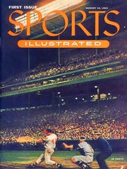 The first issue of Sports Illustrated included a photo of Milwaukee Braves slugger Eddie Mathews on the cover.