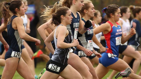 2013 Big East Women's Cross Country Championship hosted by Marquette University