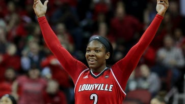 In the twilight of her Louisville career, Myisha Hines-Allen isn't ready to look back