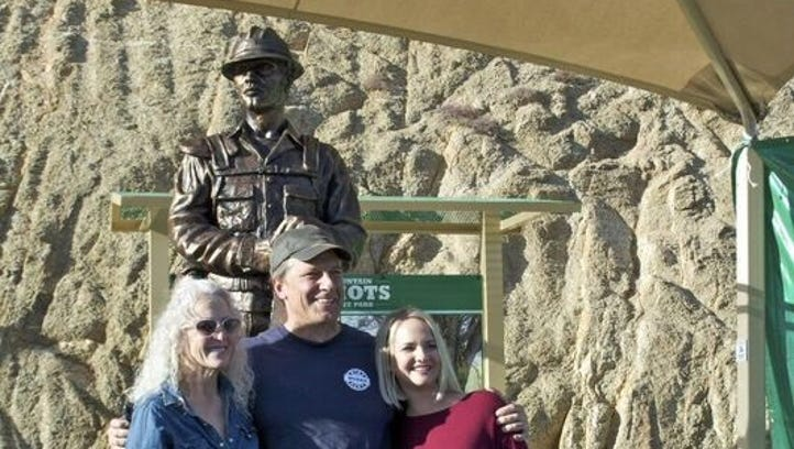 New statue to honor Granite Mountain Hotshots 5 years after Yarnell Hill Fire