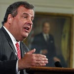 NEWARK, NJ - JUNE 4: New Jersey Gov. Chris Christie outlines plans for a special election to be held to fill the vacant U.S. Senate seat of Sen. Frank R. Lautenberg (D-NJ), who died yesterday, on June 4, 2013 at the Statehouse in Trenton, New Jersey. Christie did not disclose who would fill the vacant seat until the election scheduled for October 16, 2013. (Photo by Jeff Zelevansky/Getty Images)