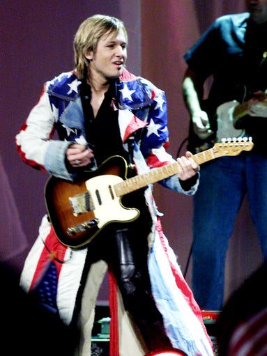 Keith Urban performs at The Country Freedom Concert