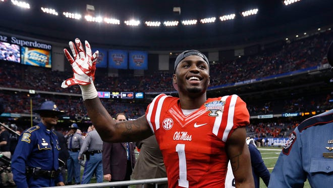 Mississippi wide receiver Laquon Treadwell could be a Lions target in the upcoming NFL Draft.