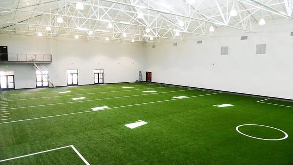 Christ School's new $6 million indoor athletic complex