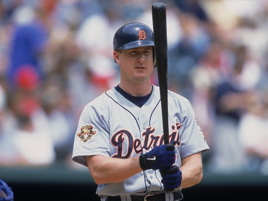 Dean Palmer will be among a group inducted into Tallahassee-Leon Babe Ruth?s inaugural Hall of Fame Class Friday. GETTY IMAGES Dean Palmer of the Detroit Tigers at bat during a May 2001 game against the Texas Rangers at The Ballpark in Arlington, Texas.