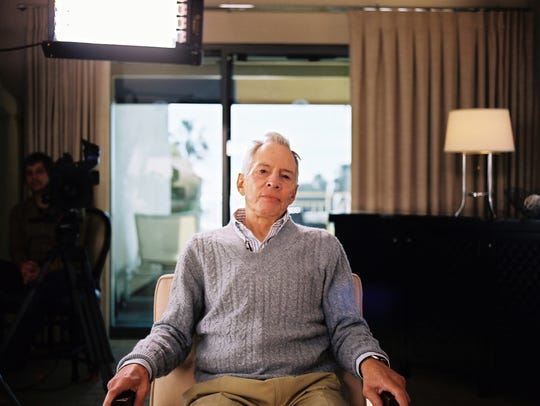 Robert Durst, accused murderer and subject of HBO's