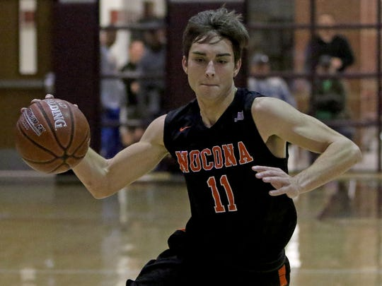 Nocona senior Riley McCasland was one of the area's top scorers, averaging 20.6 points per game.