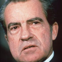 President Richard Nixon is shown in this 1973 file photo.