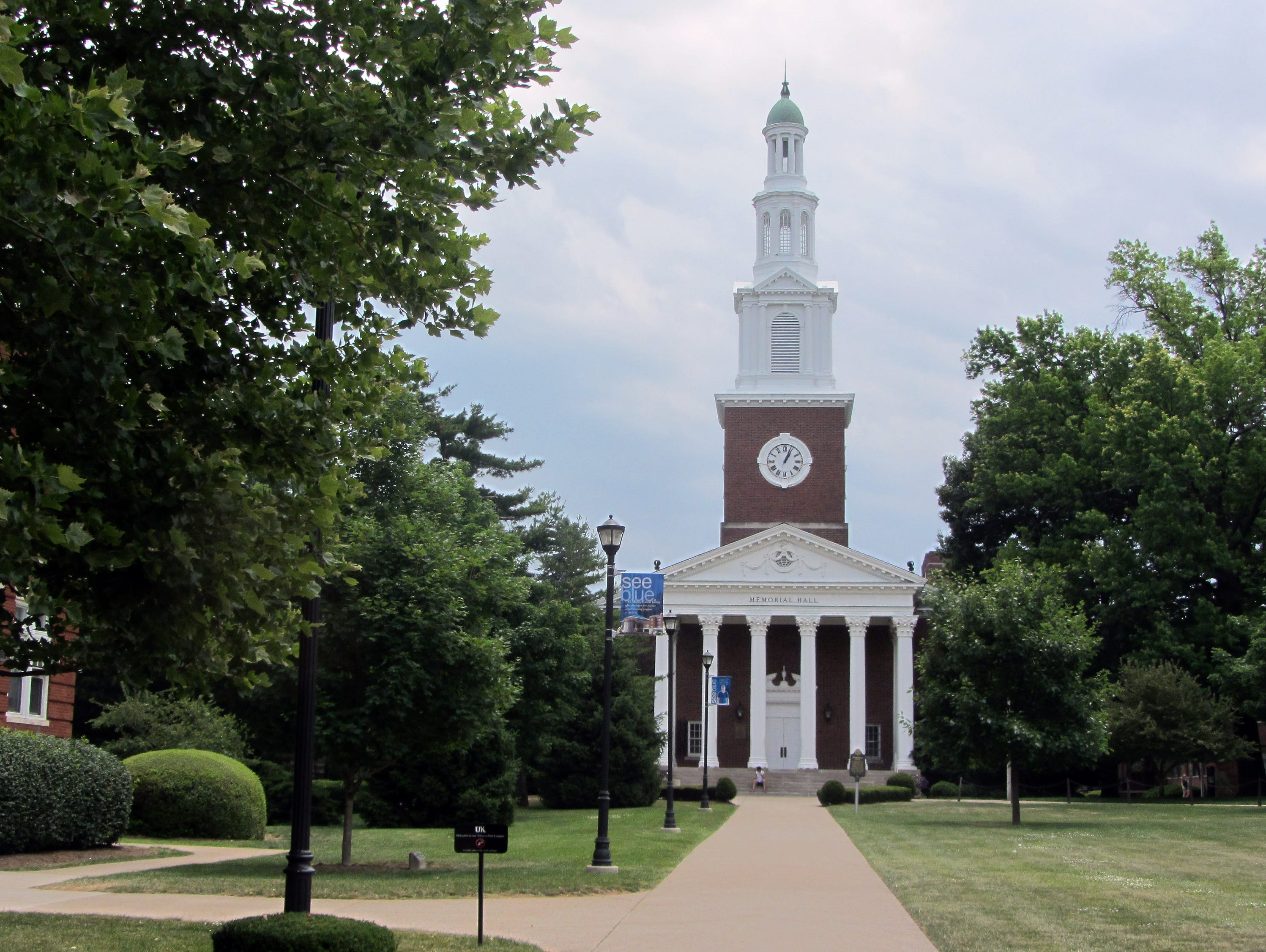 Memorial Hall on UK's campus in Lexington. May 26, 2012