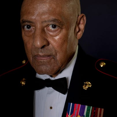 Sgt. Maj. John Canley was told by President Donald