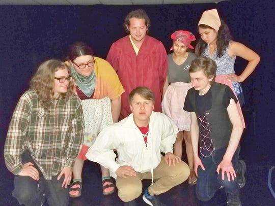 The Little Peasant, played by Kekoa Bicoy, center,