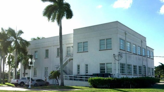 A view of Everglades City Hall on Tuesday, Oct. 20, 2015.
