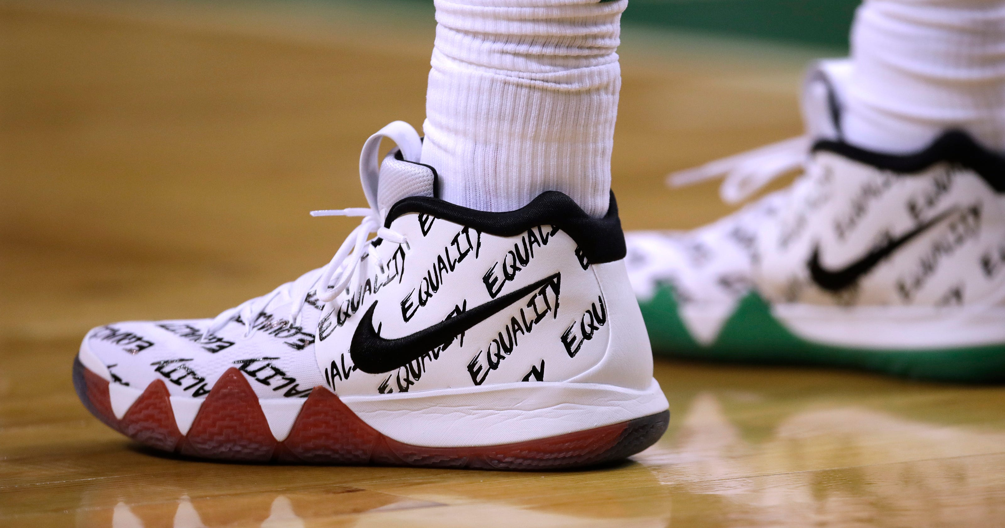 c329583711ee NBA players step toward equality in limited edition sneakers