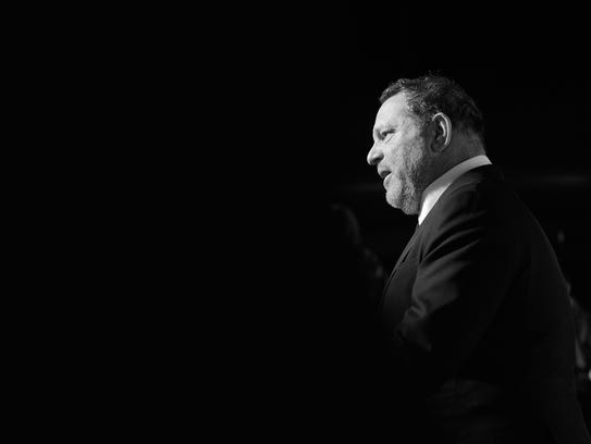 Harvey Weinstein at the Directors Guild of America