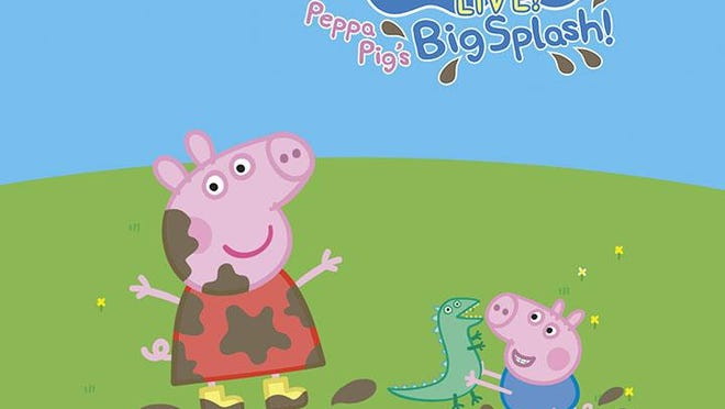 Peppa Pig, a popular tv cartoon for preschoolers comes to the Louisville Palace this week