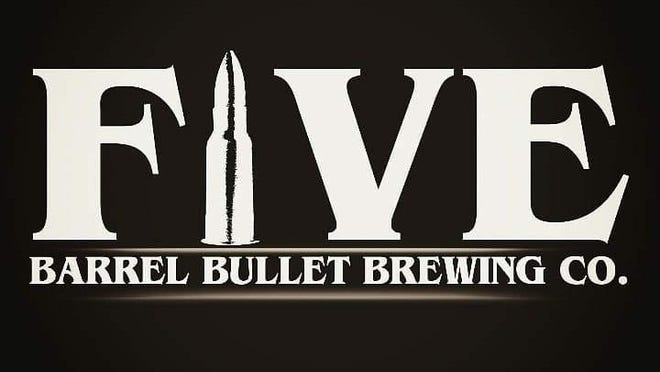 Courtesy of Five Barrel Bullet Brewing Co.