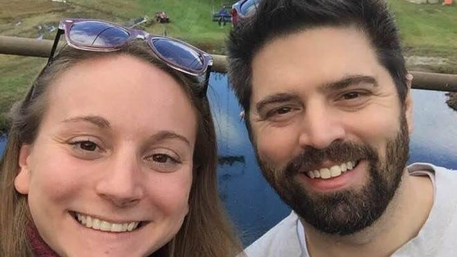 Mollie Cramner and Jeffrey Everal will get hitched today after having their wedding plans disrupted by COVID-19. Submitted photo