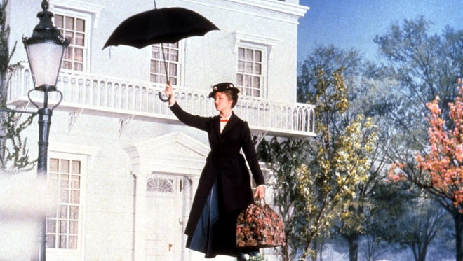 Julie Andrews in 1964's 'Mary Poppins.'