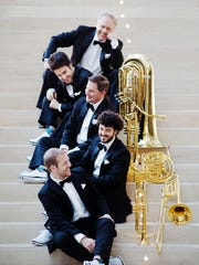 Canadian Brass, a world-renowned brass quintet with