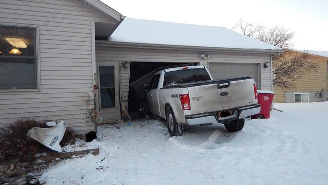 The scene of a crash on Feb. 5, 2018 in Harrisburg.