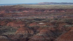A view of the Painted Desert February 21, 2016.