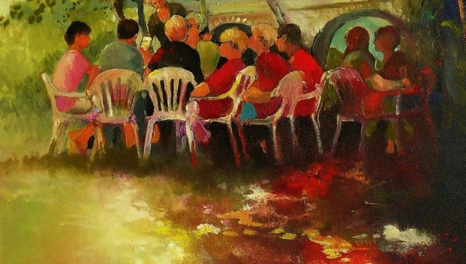 The oil paintings of Michael O'Connell will be on display Feb. 5-March 31 at the Hang Up Gallery of Fine Art in Neenah.
