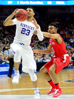 Jamal Murray (23) is hoping to move up NBA draft boards.