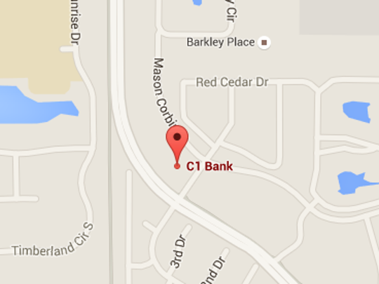The C1 Bank in Fort Myers was robbed about 10:30 a.m.