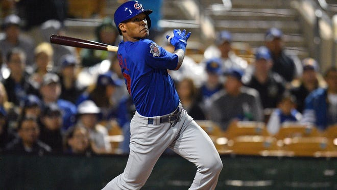 SS Addison Russell, Cubs, 24