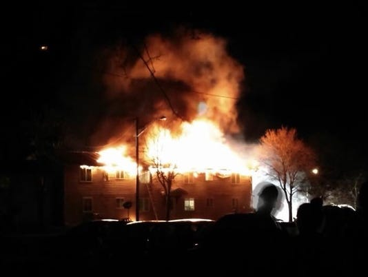 Cedar Commons fire
