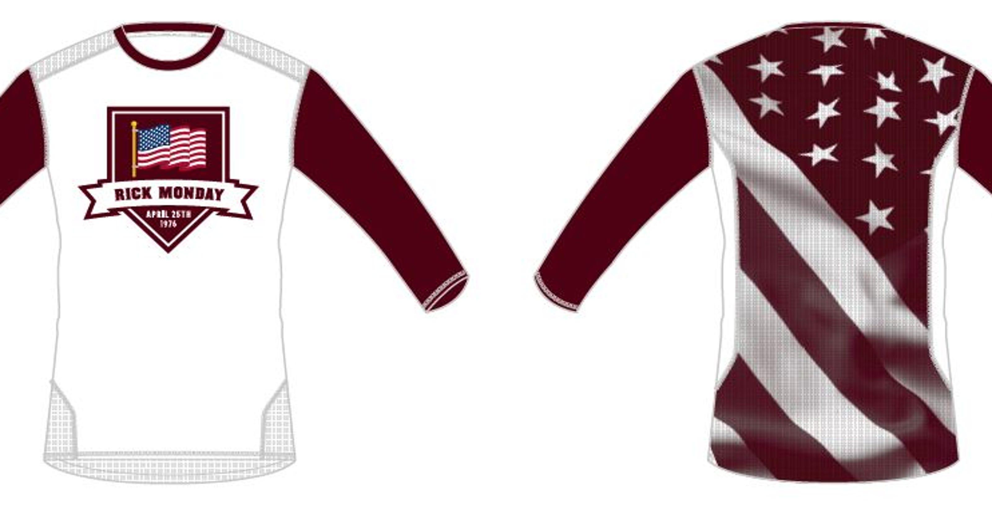 024ac0fc61f ASU baseball to honor Rick Monday with special flag uniform