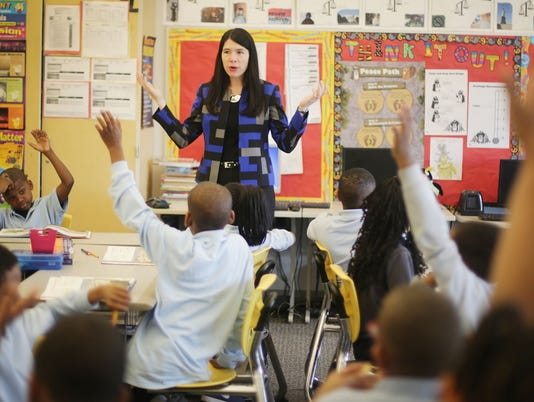 Detroit's new school system officially begins
