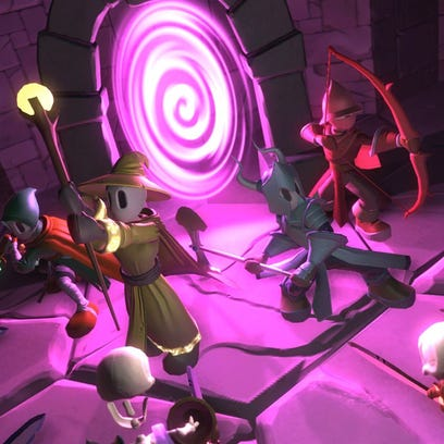 Hack, Slash & Backstab, a game developed at RIT, will