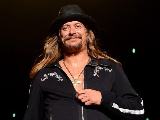 Kid Rock, along with Foreigner, will be in concert Saturday at Hollywood Casino Amphitheatre in St. Louis.