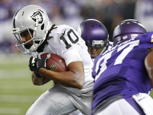 Maclay alum Seth Roberts made the Oakland Raiders' 53-man roster after spending a year on the practice squad as an undrafted rookie out of West Alabama.