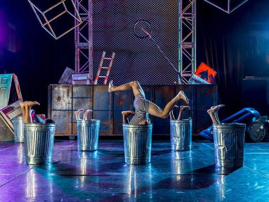 Philadelphia's award-winning Junk Dance troupe, who are coming to the new House of Independents entertainment venue in Asbury Park.