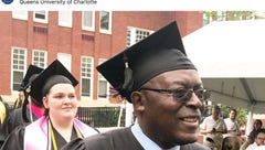 Once an illiterate and homeless drug addict, man graduates college at age 65