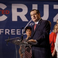 Senator Ted Cruz announced during a rally at the Pavilion at Pan Am Plaza, that if he is the Republican presidential candidate, his running mate for vice-president would be Carly Fiorina, a former candidate herself.