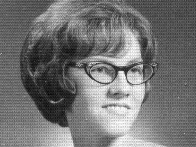 A Tipton High School Senior picture features a then