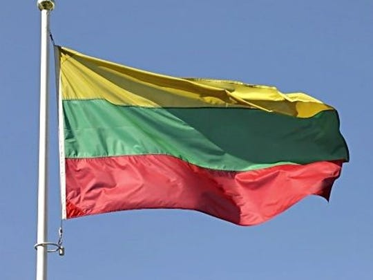 FLAG RAISING - A ceremonial raising of the Lithuanian flag, an annual tradition, will be observed at Juno Beach Town Center, 340 Ocean Drive in Juno Beach, at noon on Sunday, Feb. 19. For more information on the ceremony, call 561-626-1122.