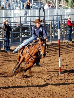 Kylie Hargett, a 2014 Fernley High School graduate, concluded her high school rodeo career with a Silver State International Rodeo championship and a sixth place in pole bending at the recent National High School Rodeo Finals.