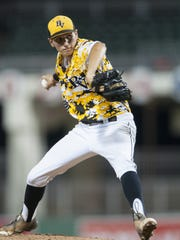 Bishop Verot alum Thad Ward could possibly be taken in this week's MLB First-Year Player Draft.