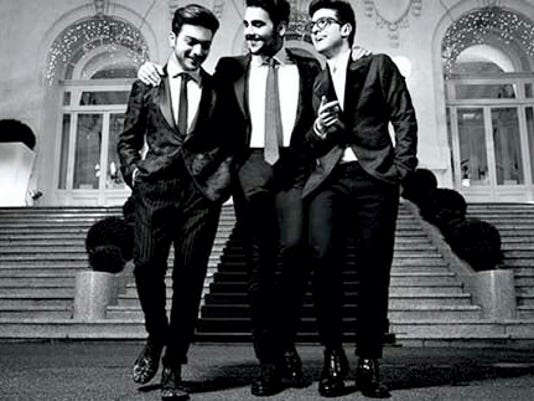 Il Volo, the singing trio from Italy, will be performing at the Hershey Theatre Feb. 23. Tickets to see the teen sensation are on sale now. Submitted