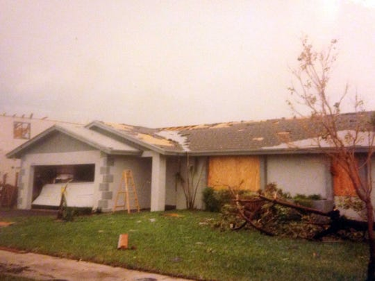 My parents' house in Homestead, Fla., was one of the lucky ones, receiving a lot less damage than many of our neighbors. They still had to rebuilt the home from scratch as water damage seeped into the roof and walls.
