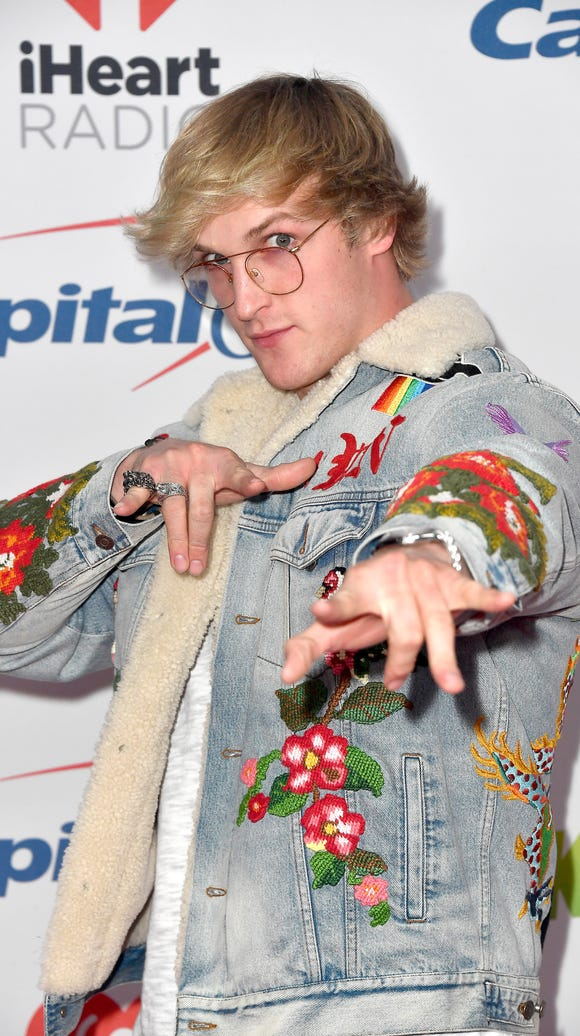 Logan Paul attends 102.7 KIIS FM's Jingle Ball 2017